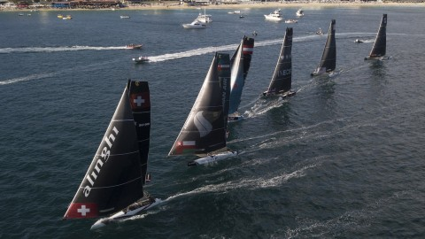 Alinghi rises through the ranks on penultimate day of Extreme Sailing Series™ Los Cabos